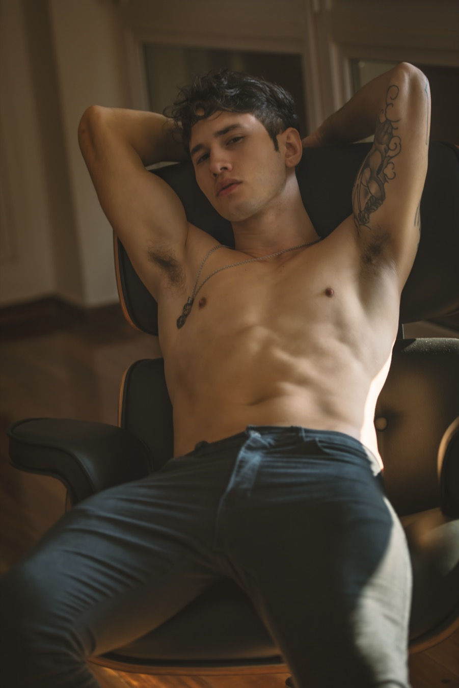 A web-exclusive featuring model Gustavo Salazar captured by photographer Carlos Andrés Montoya